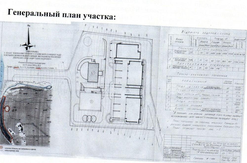 Cтроительство оздоровительного-туристического комплекса в пгт Сатанов